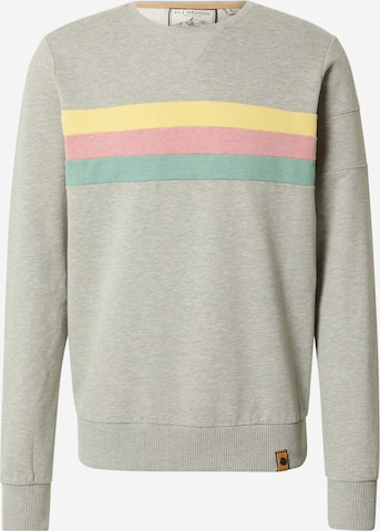Fli Papigu Sweatshirt 'Gaat de Bak' in Grau