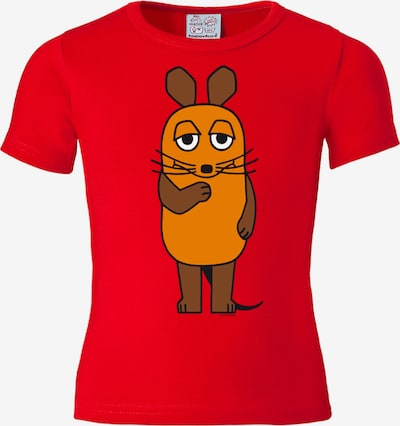 LOGOSHIRT Printshirt Die Maus in rot, Produktansicht