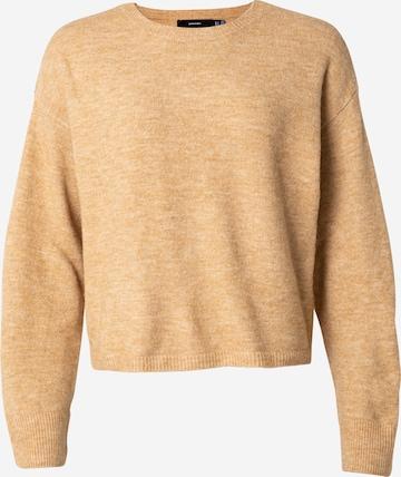 VERO MODA Sweater 'Plaza' in Beige