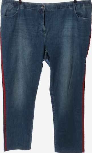 SAMOON Hüftjeans in 48 in blau / rot, Produktansicht