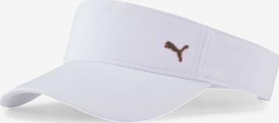 PUMA Czapka sportowa w kolorze brązowy / białym, Podgląd produktu