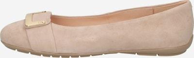 CAPRICE Ballerina in beige, Produktansicht