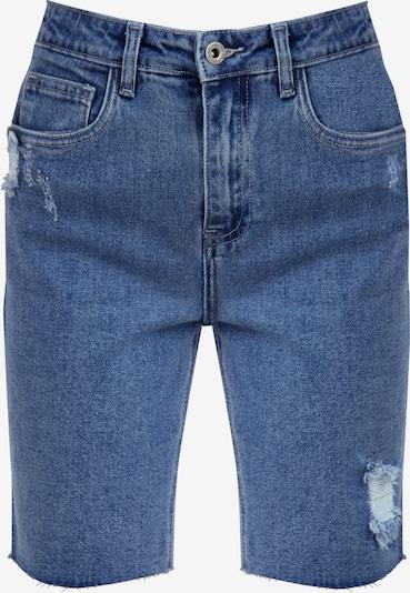 Finn Flare Jeans-Shorts in blau, Produktansicht