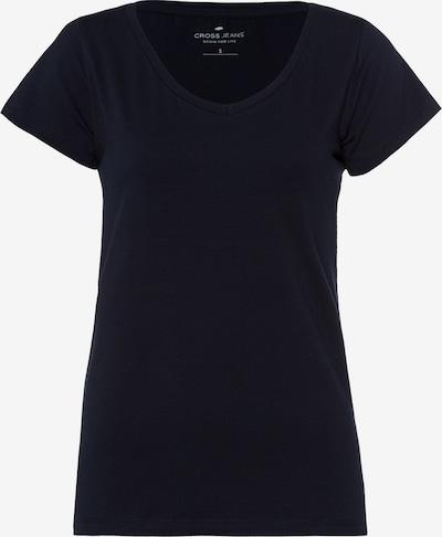 Cross Jeans T-Shirt in blau, Produktansicht