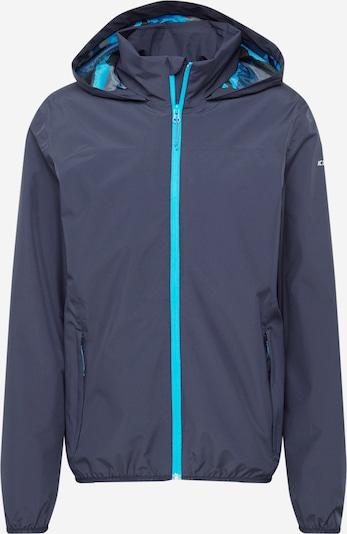 Giacca per outdoor 'BANTRY' ICEPEAK di colore navy / turchese / bianco, Visualizzazione prodotti