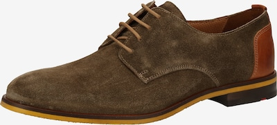 LLOYD Chaussure de sport à lacets en marron, Vue avec produit