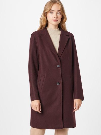 VERO MODA Mantel 'Paula' in burgunder, Modelansicht