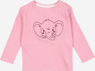 s.Oliver Junior T-Shirt in rosa / schwarz, Produktansicht
