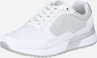 GUESS Nízke tenisky - strieborná / biela, Produkt