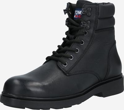 Tommy Jeans Boots med snörning i svart, Produktvy