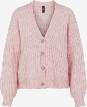 Y.A.S Strickjacke in Pink