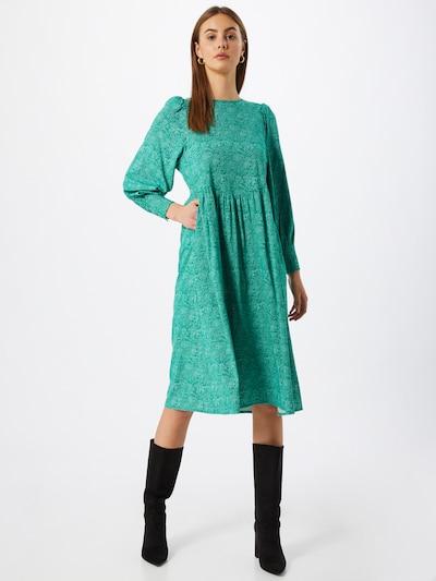 Rochie 'Dota' Soft Rebels pe verde / alb, Vizualizare model