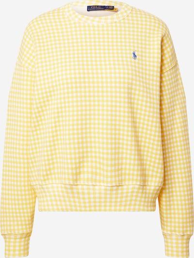 POLO RALPH LAUREN Sweatshirt in blau / safran / weiß, Produktansicht