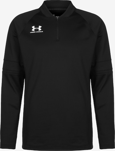 UNDER ARMOUR Trainingssweat 'Challenger III' in schwarz / weiß, Produktansicht
