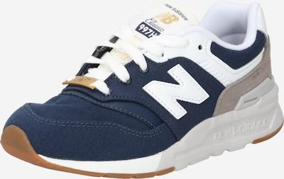 new balance Brīvā laika apavi tumši zils / balts, Preces skats