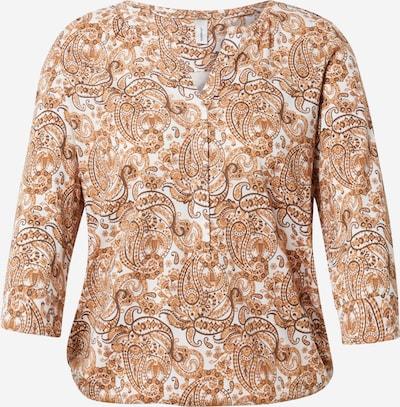 Soyaconcept Blusa 'FELICITY' en marrón / blanco, Vista del producto