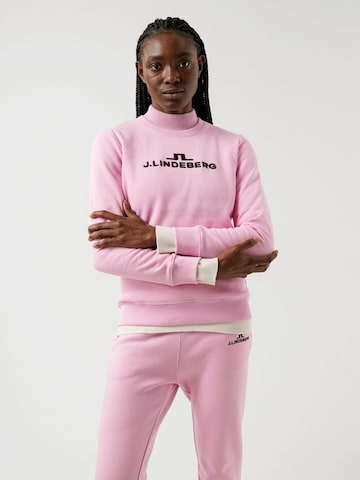 J.Lindeberg Sweater in Pink