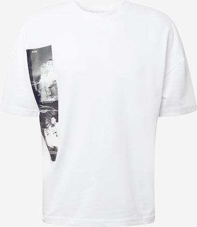 Maglietta 'Glitch' NU-IN di colore grigio / bianco, Visualizzazione prodotti