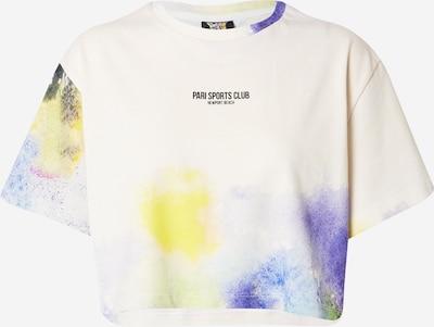 PARI Shirt 'SPORTS CLUB' in Yellow / Dark green / violet / White, Item view
