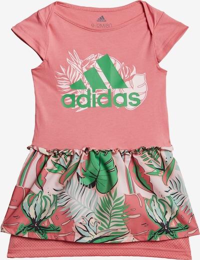 ADIDAS PERFORMANCE Sportkleid in azur / grün / hellpink / schwarz / weiß, Produktansicht