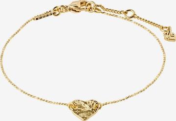 Pilgrim Armbånd 'Sophia' i gull