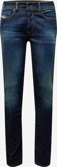 DIESEL Jean 'SLEENKER-X' en bleu foncé, Vue avec produit