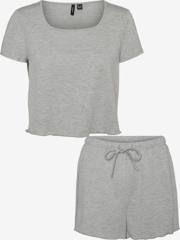 VERO MODA Pajama 'Linn' in Grey