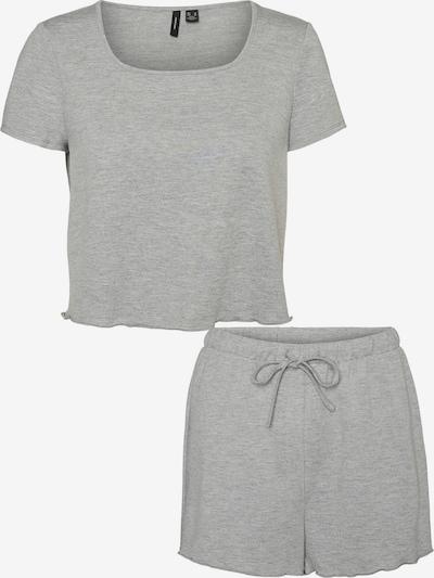 VERO MODA Pyjama 'Linn' in de kleur Grijs gemêleerd, Productweergave