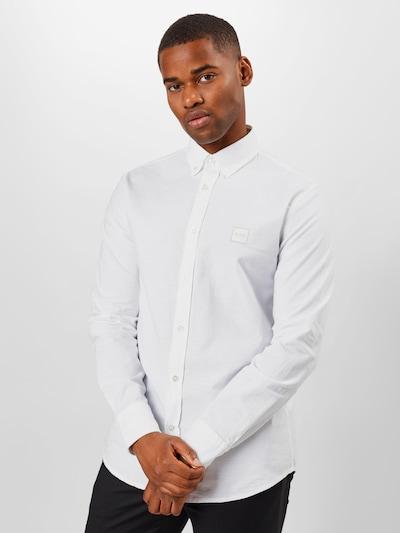 Dalykiniai marškiniai 'Mabsoot' iš BOSS , spalva - balta: Vaizdas iš priekio