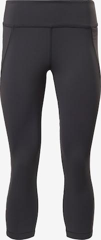 Pantaloni sport de la Reebok Sport pe negru