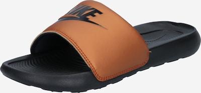 Nike Sportswear Muiltjes 'Victori One' in de kleur Koper / Zwart, Productweergave