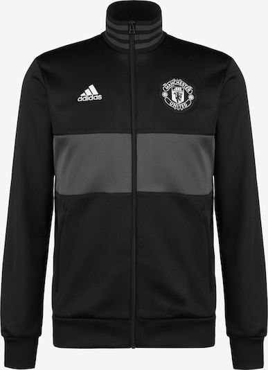 ADIDAS PERFORMANCE Trainingsjacke in grau / schwarz, Produktansicht