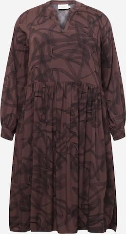 KAFFE CURVE Blusekjoler 'Billa' i brun