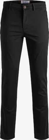 Pantalon chino 'MARCO' JACK & JONES en noir