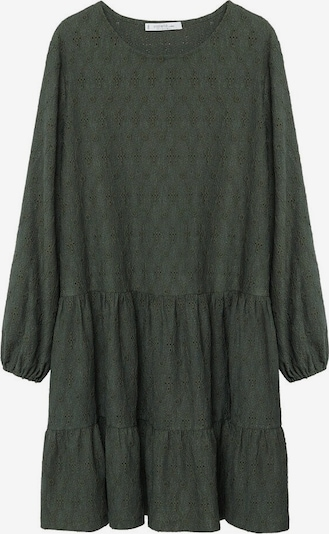 VIOLETA by Mango Kleid 'Rosita' in dunkelgrün, Produktansicht