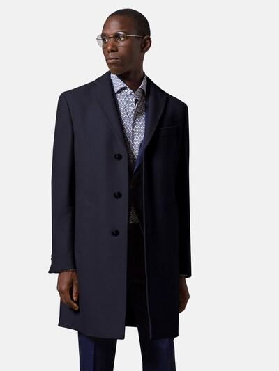 Baldessarini Mantel in nachtblau, Modelansicht