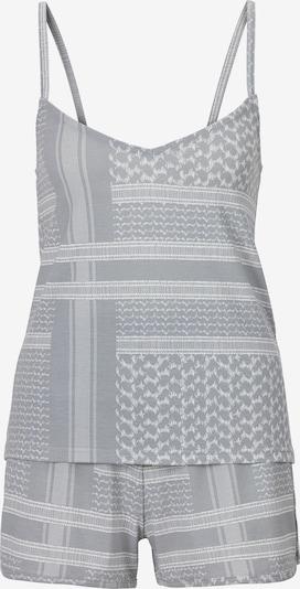 s.Oliver Korte pyjama 'Pali' in de kleur Grijs, Productweergave