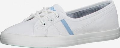 s.Oliver Sneaker in hellblau / weiß, Produktansicht