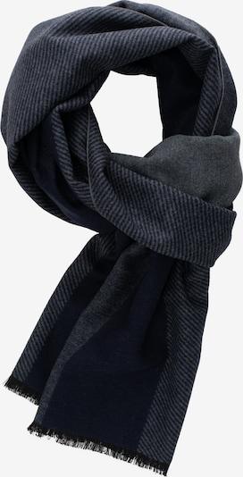 ETERNA Sjaal in de kleur Donkerblauw / Grijs, Productweergave