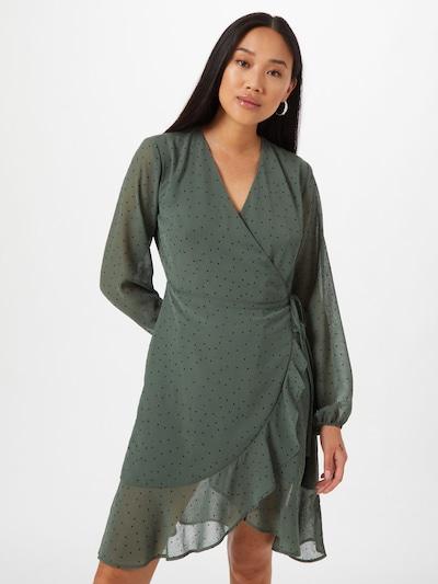 modström Kleid 'Jamir' in smaragd / schwarz, Modelansicht