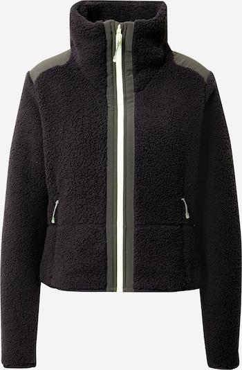 UNDER ARMOUR Functionele fleece jas in de kleur Kaki / Zwart, Productweergave