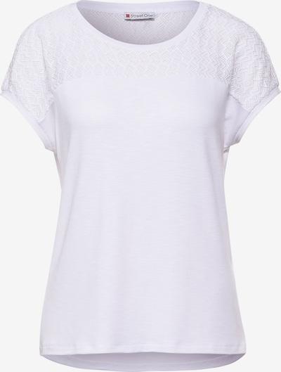 Tricou STREET ONE pe alb, Vizualizare produs