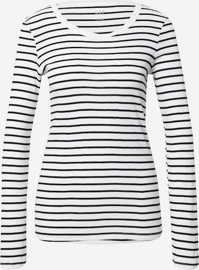 GAP T-shirt en noir / blanc, Vue avec produit
