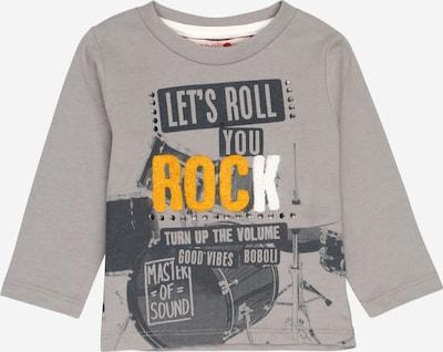Boboli Majica 'Rock' u tamo žuta / siva / tamo siva / bijela, Pregled proizvoda