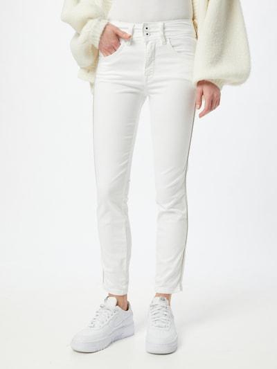Salsa Jean 'Secret' en blanc, Vue avec modèle