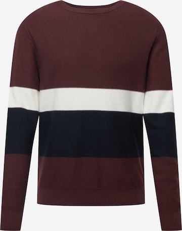 JACK & JONES Sweater 'NEWPORT' in Red