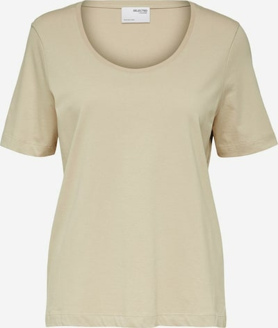 Tricou SELECTED FEMME pe bej, Vizualizare produs