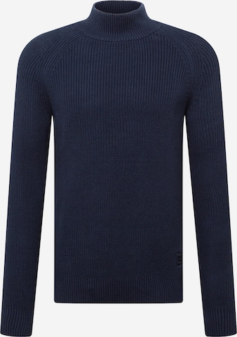 SELECTED HOMME Pullover in Blau