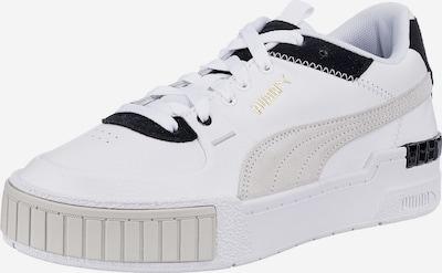 PUMA Zemie brīvā laika apavi 'Cali', krāsa - pelēks / melns / balts, Preces skats