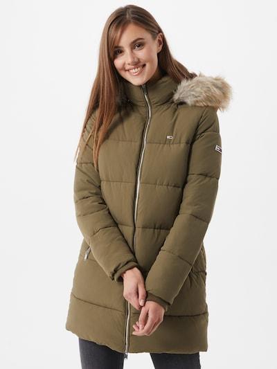 Tommy Jeans Zimný kabát 'Modern Puffa' - olivová, Model/-ka